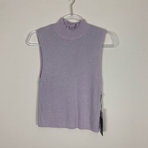 Forever 21 | Lavender Ribbed Crop Size Large NWT
